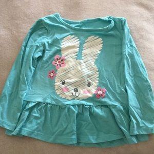 Bunny Long Sleeve Tee. 24M.
